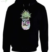 Good Vibes Only Pineapple Hoodie