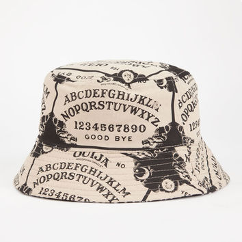 Ouija Board Bucket Hat Black/White One Size For Men 24802512501