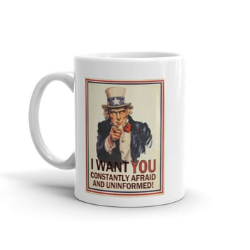 Uncle Sam I Want You Mug