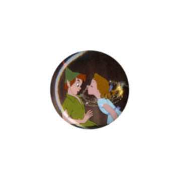 Disney Peter Pan Wendy Kiss Pin