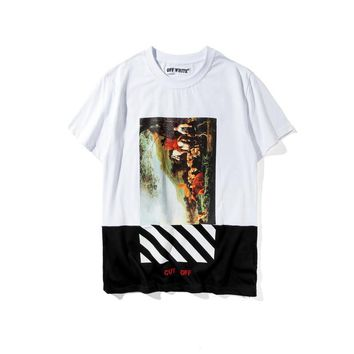 hcxx Off-White Caravaggio Patchwork T-Shirt