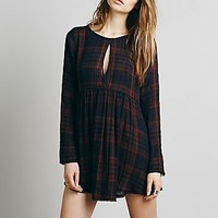 Free People Womens Yamaha Strappy Back Tunic