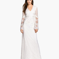 H&M Long Lace Dress $149