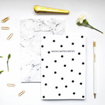 Pair Of Minimalist Notebooks