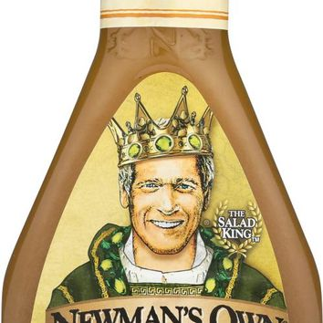 NEWMAN'S OWN: Olive Oil & Vinegar Salad Dressing, 16 oz