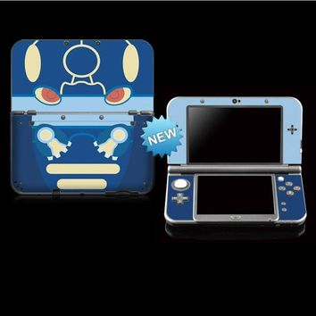 Protective Skin Stickers for  Poliwag / Poliwhirl Sticker for Nintendo NEW 3DS LL/ NEW 3DS XLKawaii Pokemon go  AT_89_9