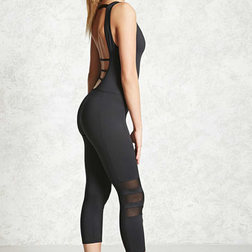 Active Mesh-Paneled Jumpsuit