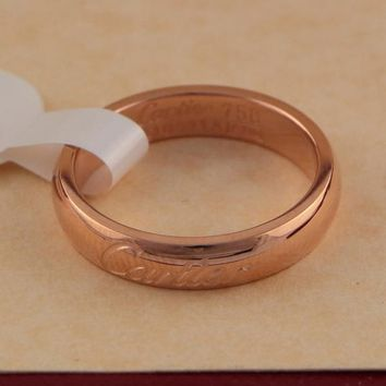 8DESS Cartier Woman Men Fashion Plated Ring