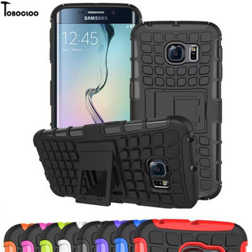 Heavy Duty Armor Shockproof Slim Case For Samsung Galaxy S3 S4 S5 S6 S7 edge A3 A5 A7 2016 2017 J5 J7 Prime J1 j3 Grand Cover