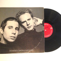 LP Album Simon And Garfunkel Bookends Vinyl Record Mrs Robinson The Graduate 1968