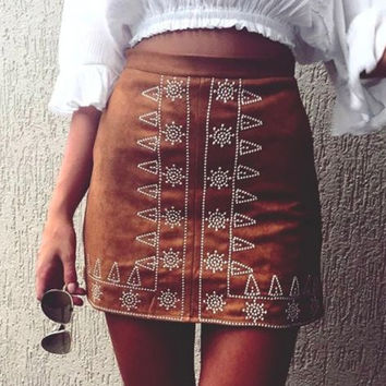 Hot Sale Embroidery Skirt [10348810892]