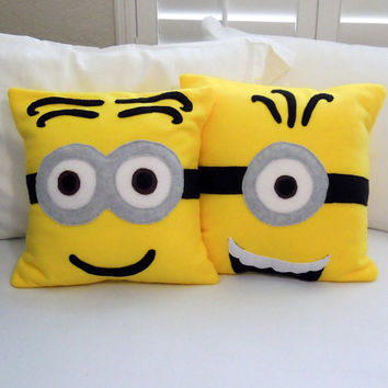 Minions Fleece Pillow, Minions Movie, Despicable Me Movie