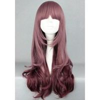 Lolita Brown Pink Ombre Wig