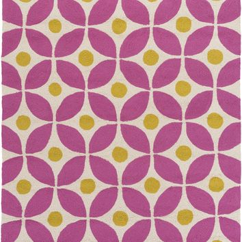 Surya Miranda MRA1003 Pink/Green Outdoor Area Rug