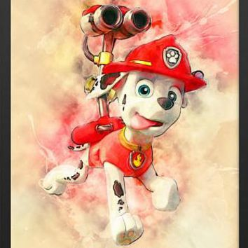 5D Diamond Painting Chase from Paw Patrol Kit