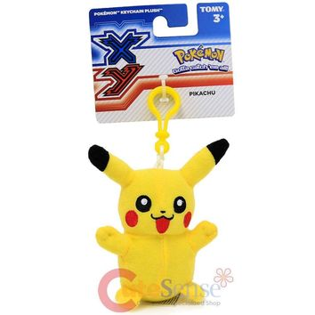 "Pokemon XY 4"" Clip-On Plush PIKACHU"