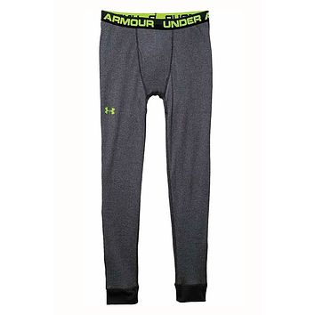 Under Armour Stealth-Grey Amplify Thermal Leggings
