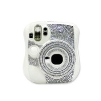 Diamond Camera Sticker for Fujifilm Instax Mini 25 - Silver