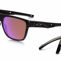 OAKLEY CROSSRANGE XL PRIZM GOLF, POLISHED BLACK OO9360-0458