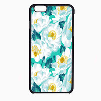 lily pulitzer white flower FOR IPHONE 6 CASE NEWEST **