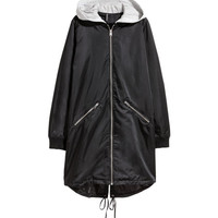 Long Bomber Jacket - from H&M