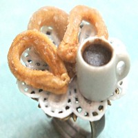 churros con chocolate ring