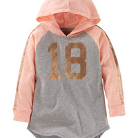 TLC Hooded Sparkle Varsity Tunic