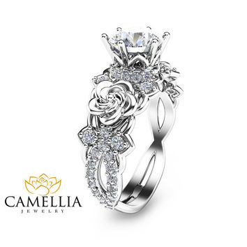 Special Reserved - 14K White Gold Semi mount ring