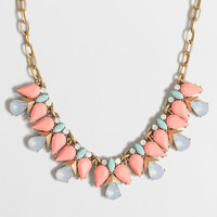 Factory teardrop clusters necklace