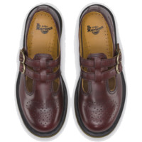 Dr Martens 8065 MARY JANE RED VINTAGE - Doc Martens Boots and Shoes