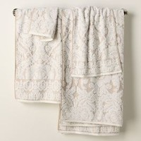 Perpetual Blooms Towels by Anthropologie