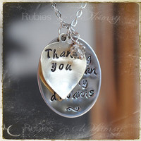 Gift For Mother In Law, New Mother in Law Christmas Gift, Mother in Law, Mother of the Groom Gift Necklace, In Law Gift