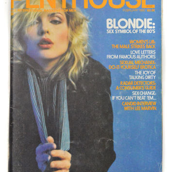 Vintage 80s Penthouse Magazine Blondie Debbie Harry February 1980 Issue