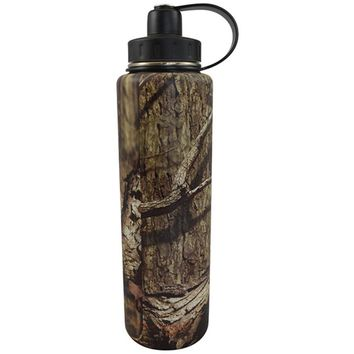 Eco Vessel Bigfoot Triple Insulated Water Bottle Camo 45 oz.