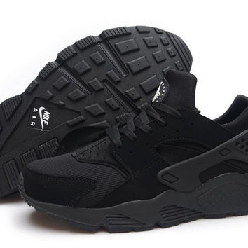 Nike Black Huarache Run from BlackRome  515b72263