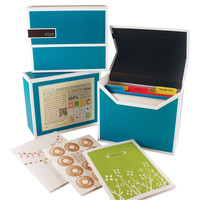 Greeting Card Gift Set, Aqua, Stationary Sets