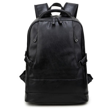 Comfort Back To School On Sale Hot Deal College Men Stylish Fashion Simple Design Rivet Casual Backpack [6542325315]