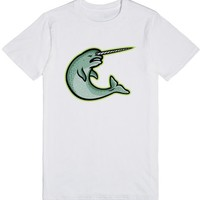 Angry Narwhal Mascot