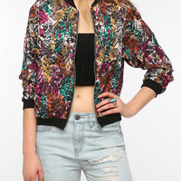 One & Only x Urban Renewal Printed Bomber Jacket