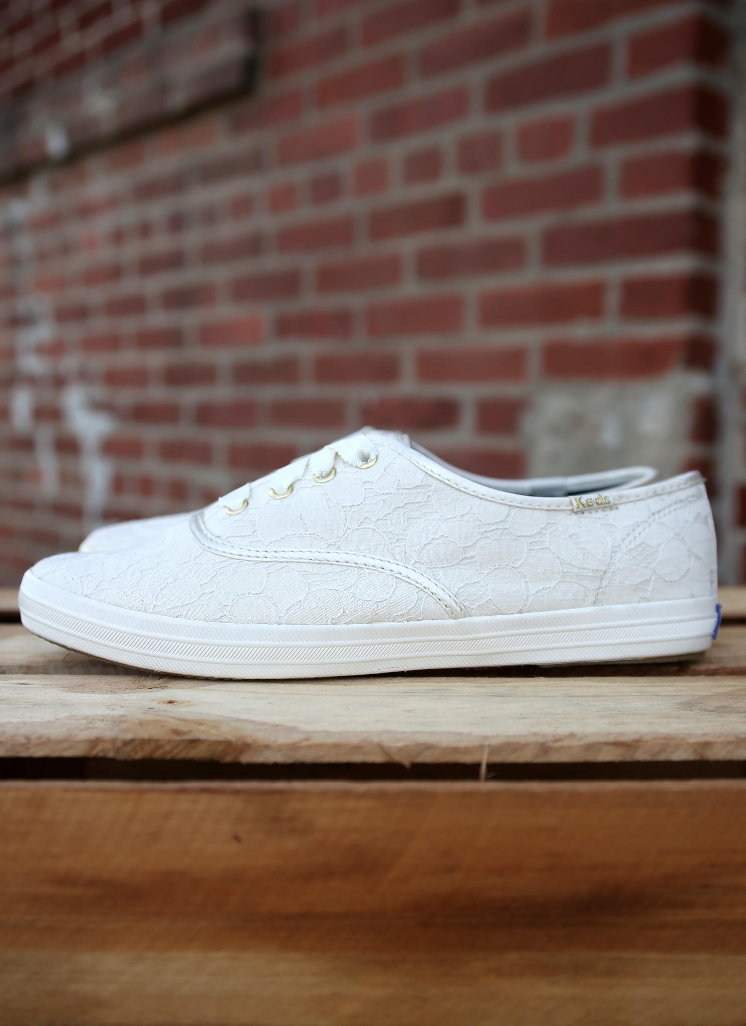 79a64511bea Keds Champion Lace Sneakers  Cream  from Shoe Craze