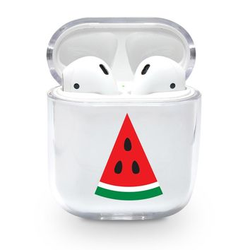 Watermelon Slice Airpods Case