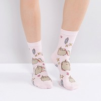 ASOS Pusheen Ankle Socks at asos.com