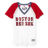 Boston Red Sox Bling Mesh Jersey - PINK - Victoria's Secret