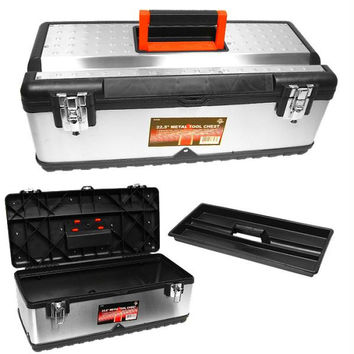 Stalwart? Tough Stainless Steel Tool Chest