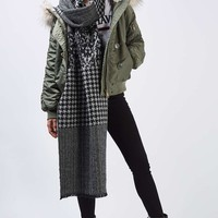 Dogtooth Print Scarf - Scarves - Bags & Accessories