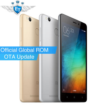 Original Global version Xiaomi Redmi 3S pro mobile phone Snapdragon 430 Octa Core 3GB RAM 32GB ROM 5.0 Inch 4100mAh FCC MIUI 8