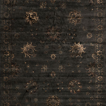 "Loloi Rugs - Mystique - 7'-7"" X 10'-5"" - Charcoal"