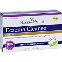 Forces of Nature Organic Eczema Cleanse Bar Soap - 3.5 oz