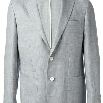 Corneliani chambray blazer