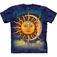 The Mountain Sun Moon T Shirt. S - 5x